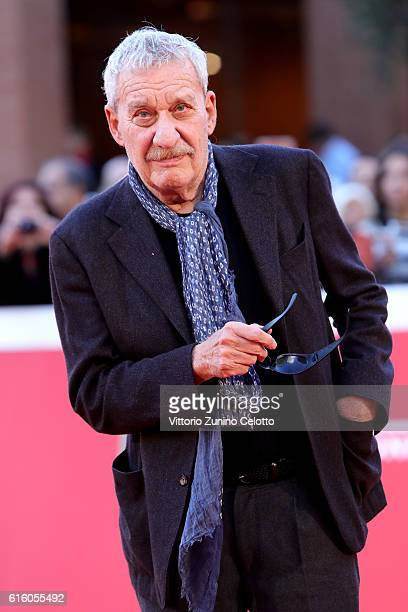Paolo Conte walks the red carpet during the 11th Rome Film Festival at Auditorium Parco Della Musica on October 21 2016 in Rome Italy