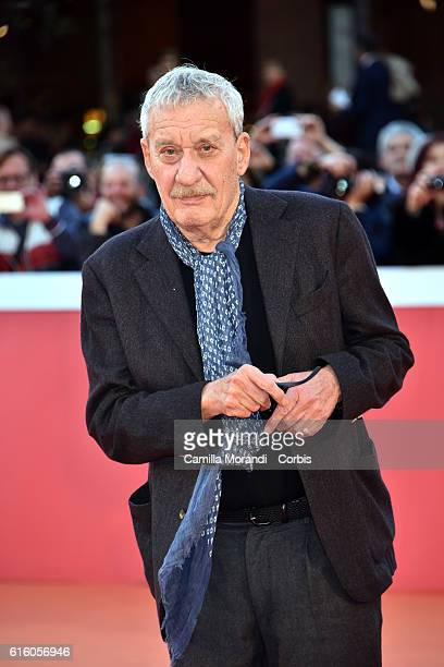 Paolo Conte walks the red carpet during the 11th Rome Film Festival on October 21 2016 in Rome Italy