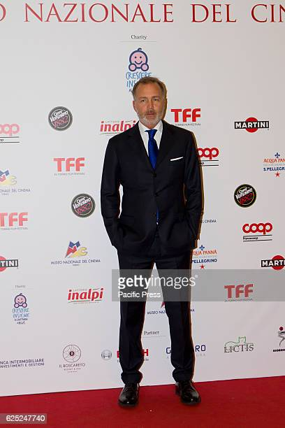 Paolo Damilano president of National Cinema Museum of Torino takes part to charity dinner during Torino Film Festival