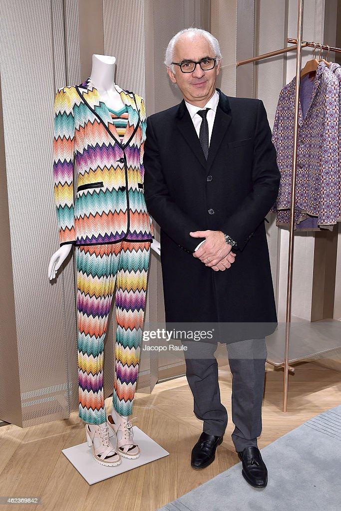 Missoni Opens A New Parisian Boutique At 219 Rue Saint Honore  - Paris Fashion Week : Haute Couture S/S 2016
