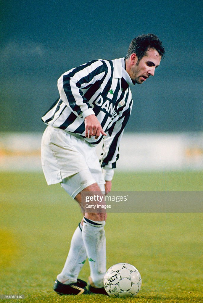 Paolo Di Canio of Juventus in action circa 1992 Di Canio played for the club between 199093