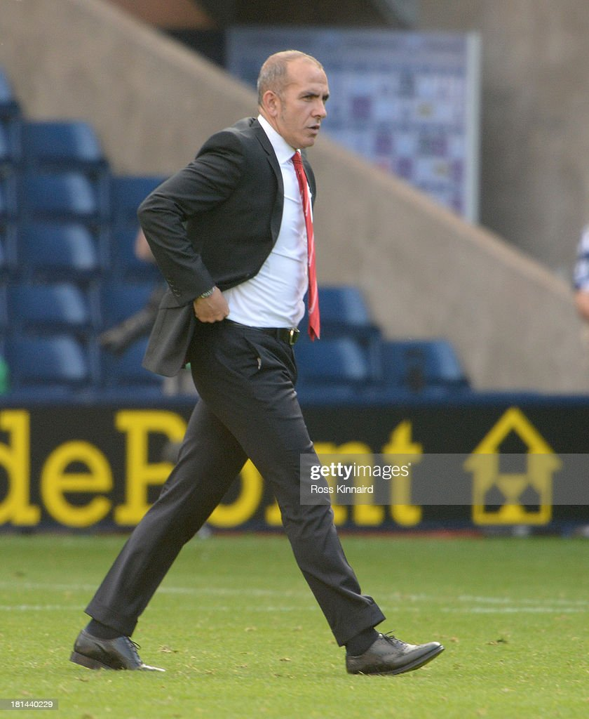 Paolo Di Canio the manager of Sunderland during the Barclays Premier League match between West Bromwich Albion and Sunderland at The Hawthorns on September 21, 2013 in West Bromwich, England.