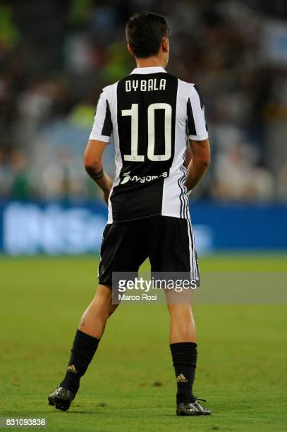 Paolo Dybala of FC Juventus during the Italian Supercup match between Juventus and SS Lazio at Stadio Olimpico on August 13 2017 in Rome Italy