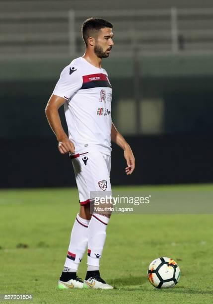 Paolo Faragò of Cagliari during the PreSeason Friendly match between FC Crotone and Cagliari Calcio at Stadio Comunale Ezio Scida on August 5 2017 in...