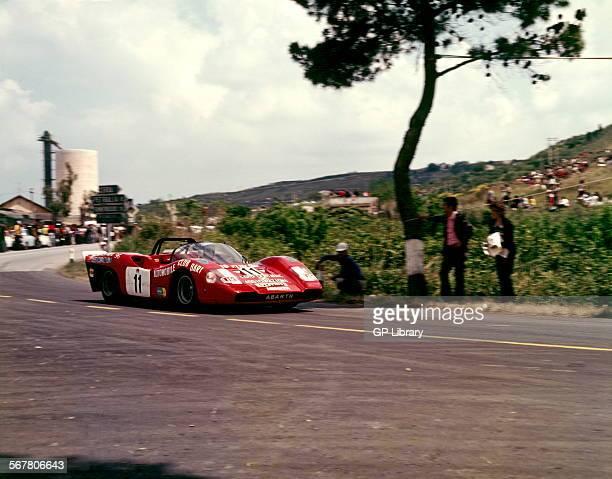 Paolo GarganoGiovanni Fasano's Abarth 2000 retired from the Targa Florio Sicily 13 May 1973