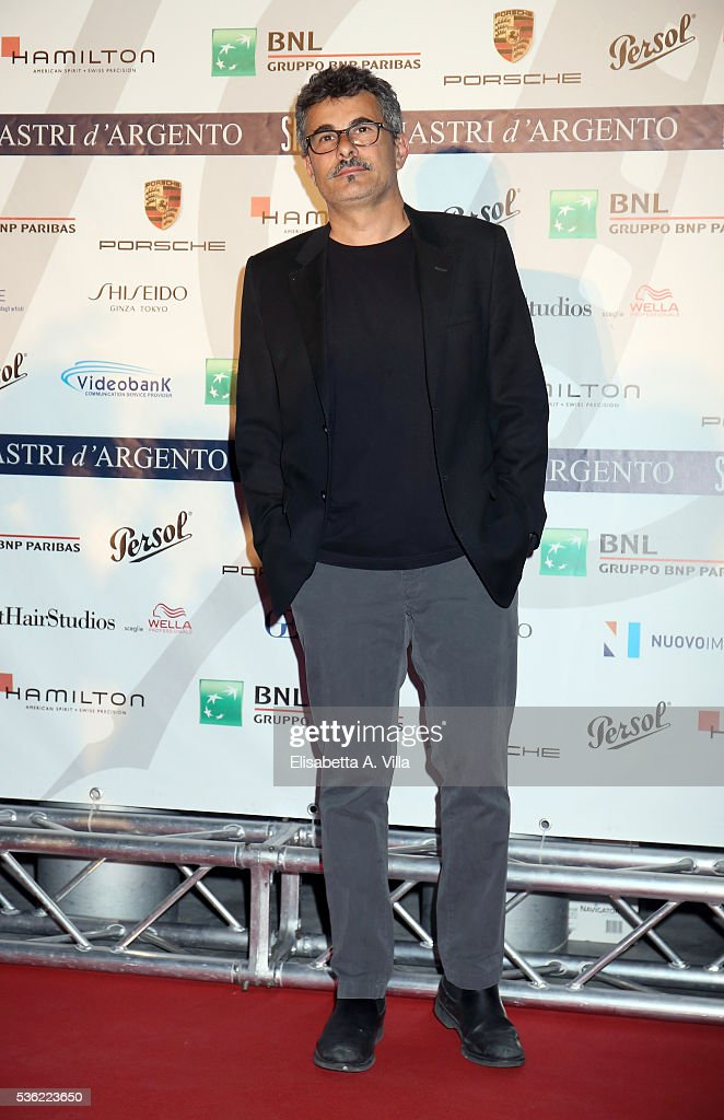 Paolo Genovese attends Nastri D'Argento 2016 Award Nominations at Maxxi on May 31, 2016 in Rome, Italy.