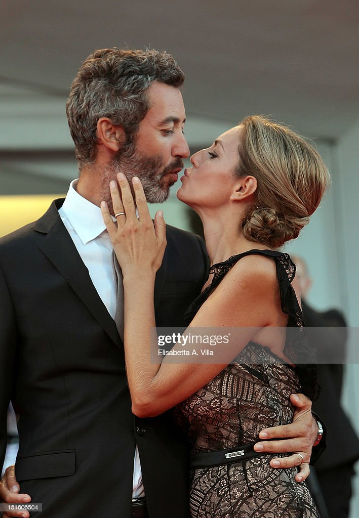 Paolo Kessisoglu and Sabrina Donadel attend the Award Ceremony during the 69th Venice Film Festival at the Palazzo del Cinema on September 8, 2012 in Venice, Italy.