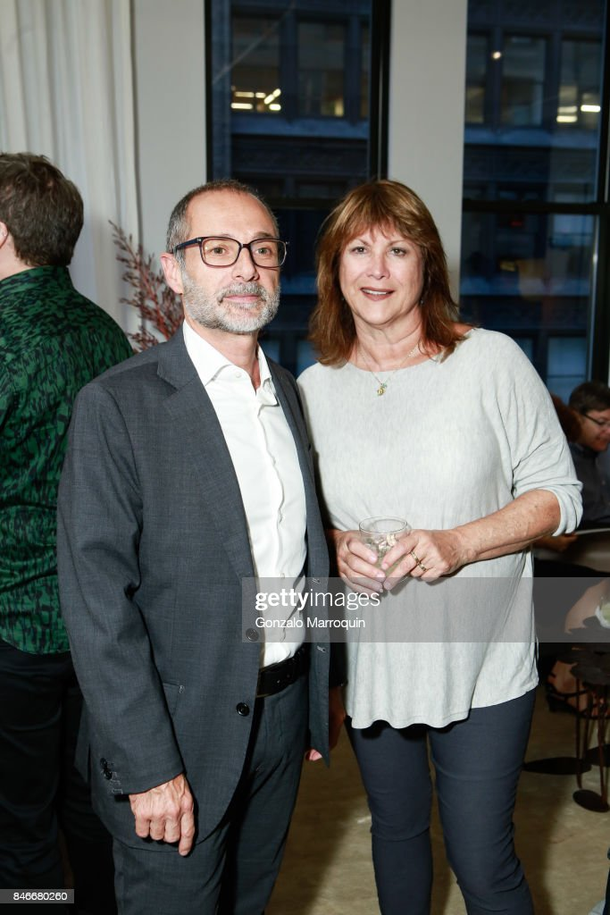 Paolo Lepschy and Jackie Colliton attend the Atlantica Collection by Antonio da Motta Leal for Alexander Lamont on September 13, 2017 in New York City.