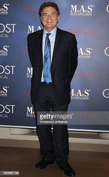 Paolo Limiti attends the opening night of 'Ghost The Musical' at the Teatro Nazionale on October 10 2013 in Milan Italy