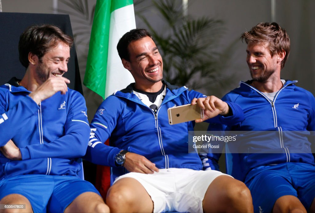 Official Draw: Argentina v Italy - Davis Cup 2017