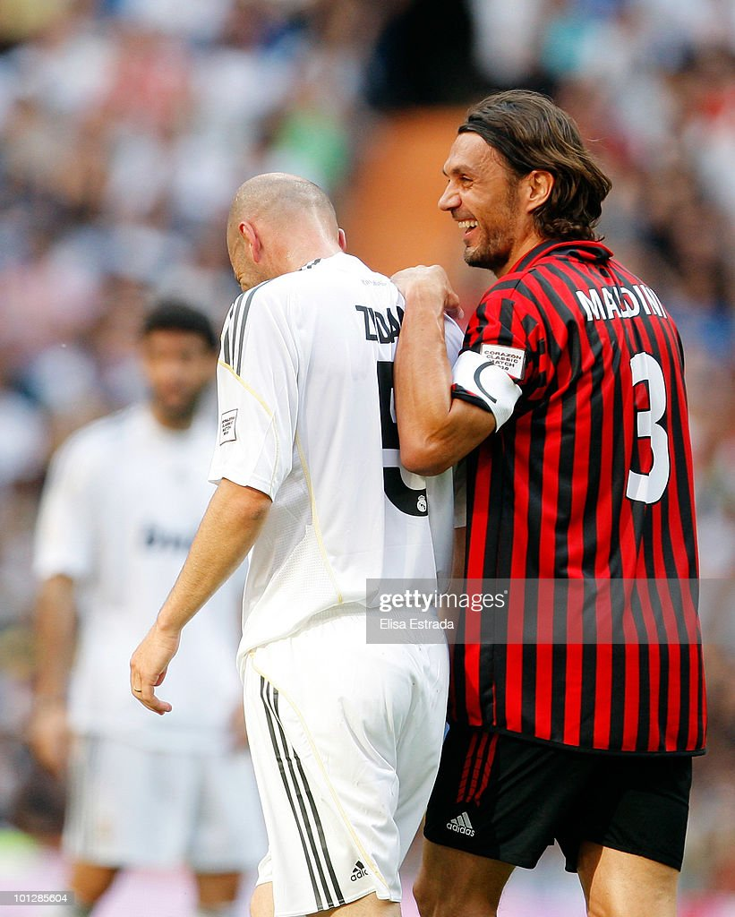 Real Madrid v Milan Real Madrid Corazon Classic Match 2010 s