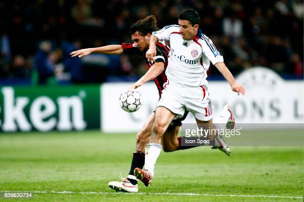 Paolo MALDINI / Roy MAKAAY Milan Ac / Bayern de Munich 1/4 de Finale Champions League