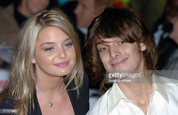 Paolo Nutini and guest arrives at the 'Amazing Journey The Story Of The Who' Premiere at the Odeon Kensington on November 05 2007 in London England