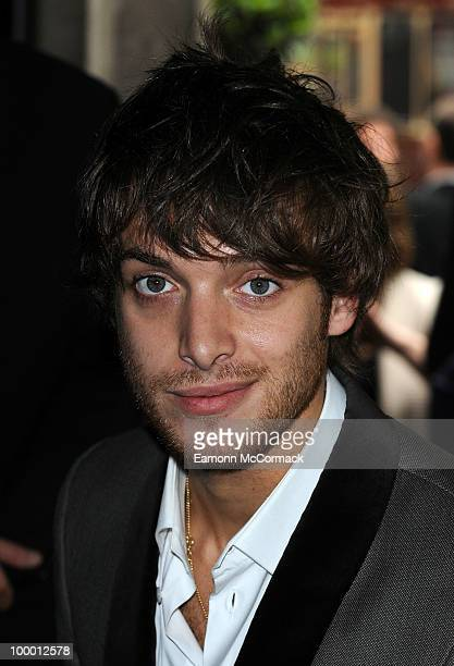 Paolo Nutini attends the Ivor Novello Awards at Grosvenor House on May 20 2010 in London England