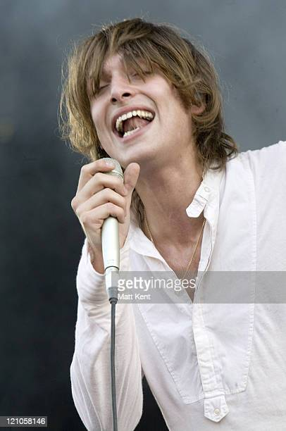 Paolo Nutini during Isle of Wight Festival Day 3 at Seaclose Park in Newport Isle of Wight Great Britain