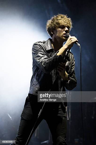 Paolo Nutini performs on stage at Manchester Apollo on May 24 2014 in Manchester United Kingdom