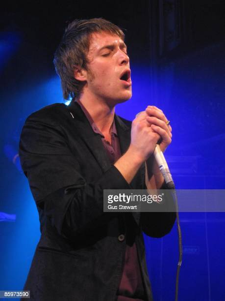 Paolo Nutini performs on stage at Wilton's Music Hall on April 7 2009 in London England