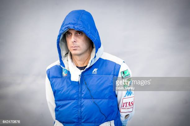 Paolo Pizzo of Italy watches his competitors during the preliminary rounds of the Peter Bakonyi Senior Men's Epee World Cup on February 17th 2017 at...