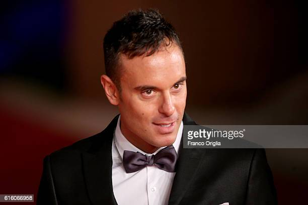Paolo Pizzo walks a red carpet for '7 Minuti' during the 11th Rome Film Festival at Auditorium Parco Della Musica on October 21 2016 in Rome Italy