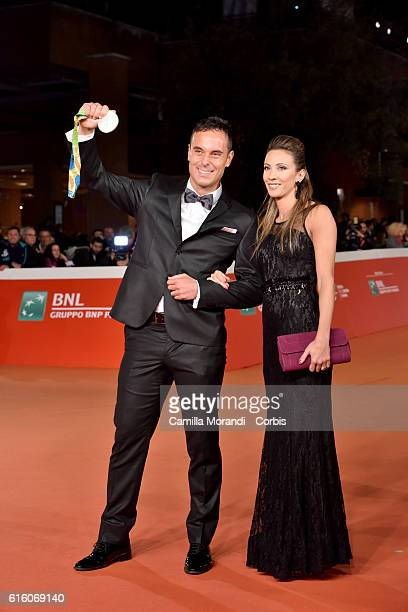 Paolo Pizzo walks a red carpet for '7 Minuti' during the 11th Rome Film Festival on October 21 2016 in Rome Italy
