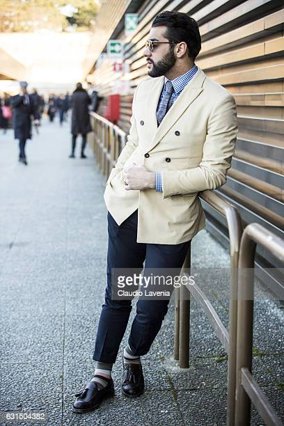 Paolo Roda is seen on January 11 2017 in Florence Italy