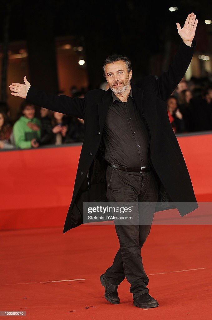 Paolo Sassanelli attends 'Cosimo E Nicole' Premiere during The 7th Rome Film Festival on November 16, 2012 in Rome, Italy.