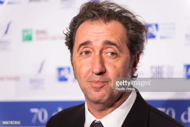 Paolo Sorrentino attends the photocall for 'Nastri d'Argento Serata 70 da Oscar'