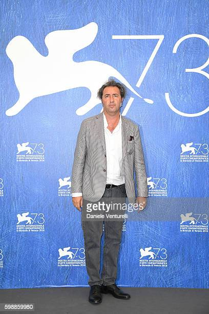 Paolo Sorrentino attends the photocall of 'The Young Pope' during the 73rd Venice Film Festival at on September 3 2016 in Venice Italy