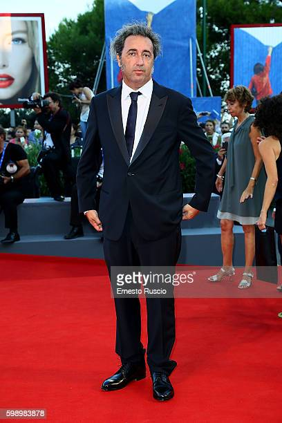 Paolo Sorrentino attends the premiere of 'The Young Pope' during the 73rd Venice Film Festival at Palazzo del Casino on September 3 2016 in Venice...