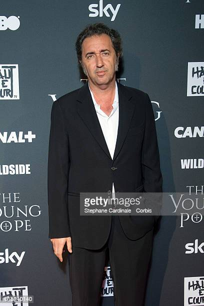 Paolo Sorrentino attends the 'The Young Pope' Paris Premiere at La Cinematheque on October 17 2016 in Paris France