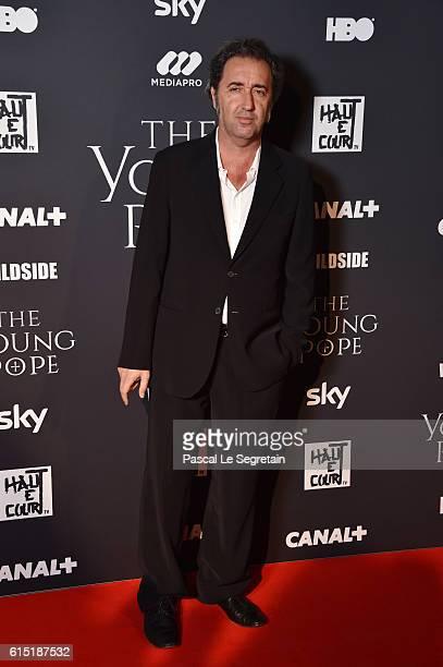 Paolo Sorrentino attends 'The Young Pope' Paris Premiere at la cinematheque on October 17 2016 in Paris France
