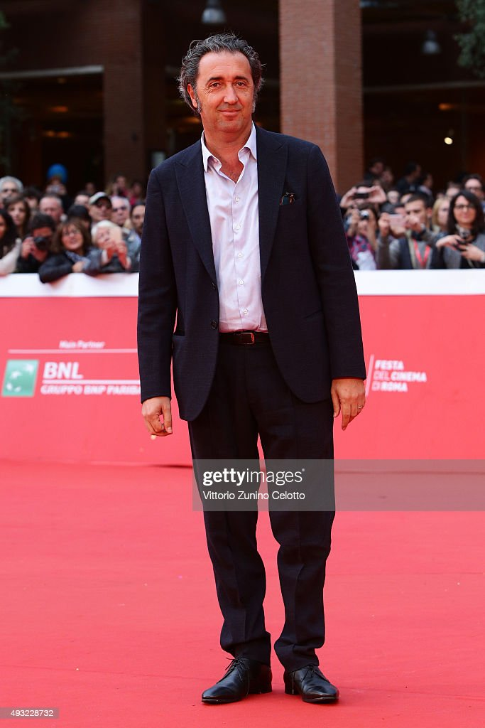 Paolo Sorrentino walks the red carpet during the 10th Rome Film Fest on October 18 2015 in Rome Italy