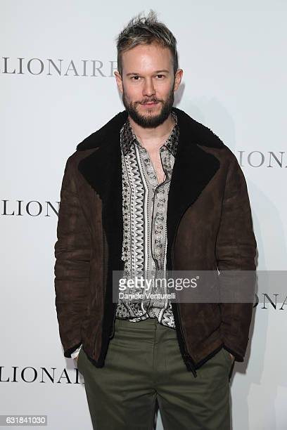Paolo Stella arrives at the Billionaire show during Milan Men's Fashion Week Fall/Winter 2017/18 on January 16 2017 in Milan Italy