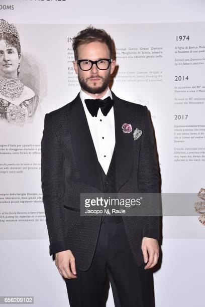 Paolo Stella attends a dinner for 'Damiani Un Secolo Di Eccellenza' at Palazzo Reale on March 21 2017 in Milan Italy