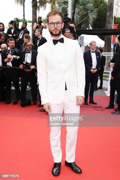 Paolo Stella attends 'Amant Double ' Red Carpet Arrivals during the 70th annual Cannes Film Festival at Palais des Festivals on May 26 2017 in Cannes...
