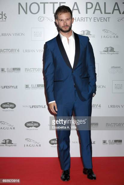 Paolo Stella attends Anlaids Gala at Palazzo Doria Pamphilj on June 8 2017 in Rome Italy