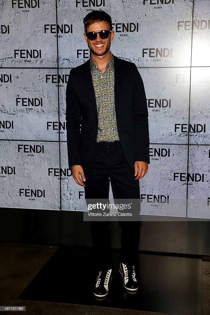 Paolo Stella attends the Fendi show during Milan Menswear Fashion Week Spring Summer 2015 on June 23, 2014 in Milan, Italy.