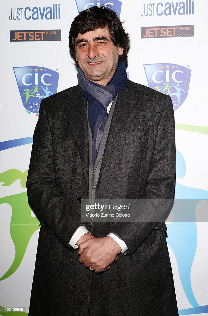 Paolo Taveggia attends C.I.C. Champions' International Camps photocall at Just Cavalli Cafe on January 31, 2013 in Milan, Italy.