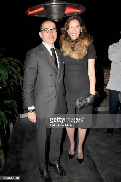 Paolo Torello Viera and Melba Ruffo di Calabria attend Cocktail Event following BRIONI ANGELS and DEMONS Screening at Rai Corporation on May 11 2009...