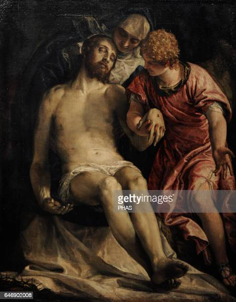 Paolo Veronese Italian Renaissance painter Venetian School The Lamentation 15761582 Oil on canvas The State Hermitage Museum Saint Petersburg Russia