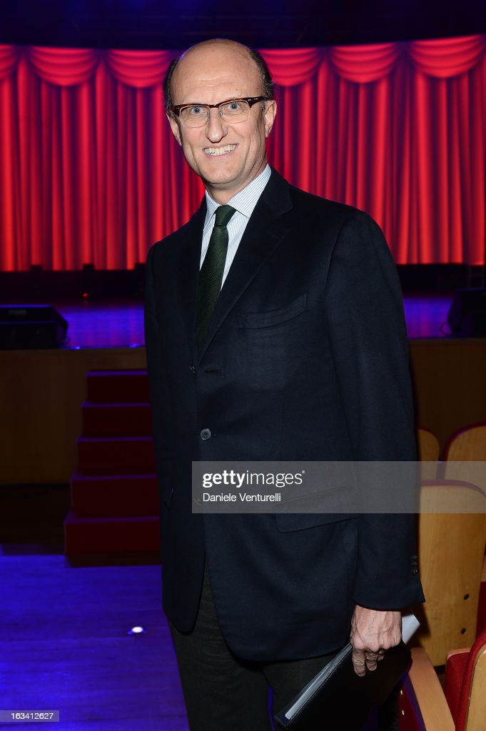 Paolo Zegna attends the 24th Accademia Del Profumo International Award 2013 at Teatro Manzoni on March 8, 2013 in Bologna, Italy.