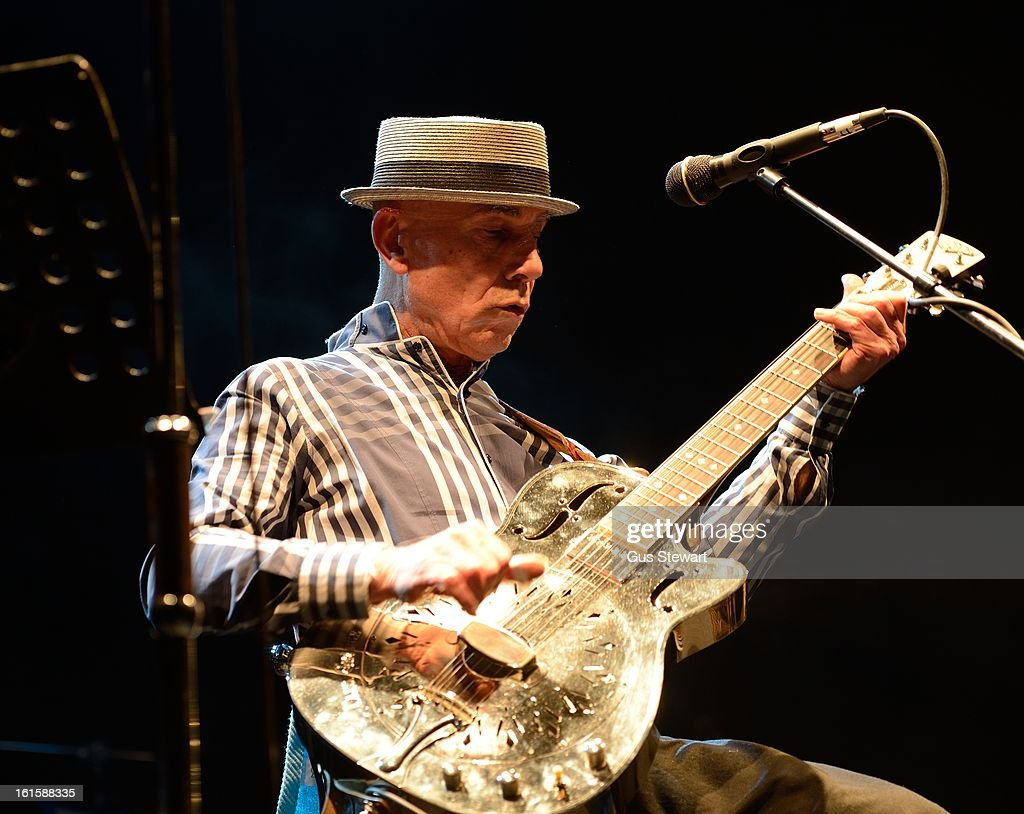 Papa George performs on stage at O2 Shepherd's Bush Empire on February 1, 2013 in London, England.
