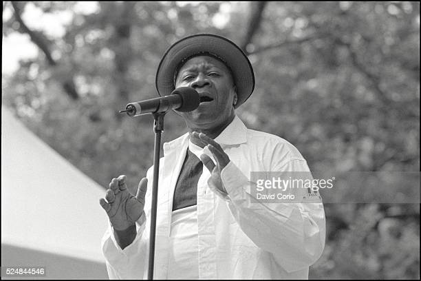 Papa Wemba performing at Central Park Summerstage NYC 5 July 1998