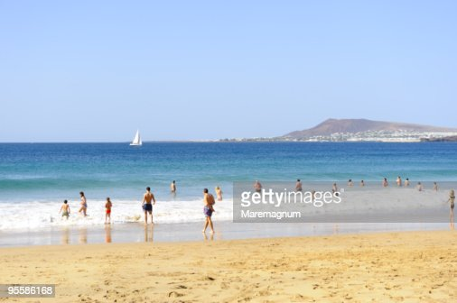 Papagayo Natural Park, beach near Playa Blanca : Stock Photo