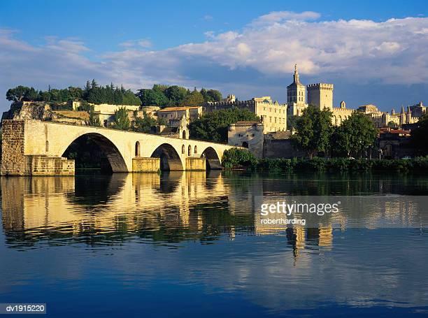Papal Palace, Avignon, Vaucluse, Provence-Alpes-Cote d'Azur, France