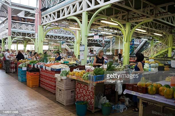 Papeete Municipal Market.