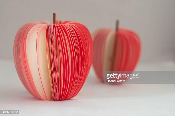 Paper apples