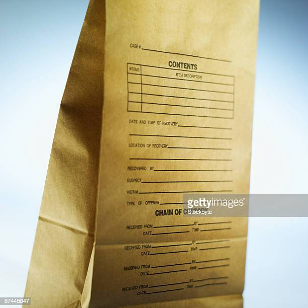 A paper bag of evidence