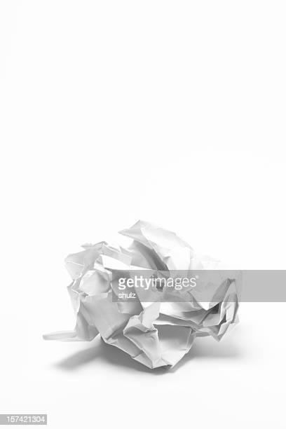 Boulette en papier