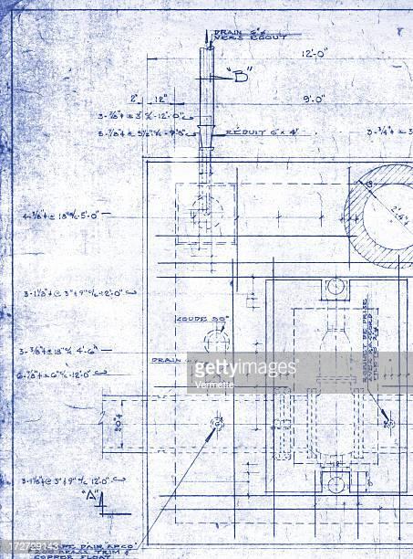 Paper blueprint